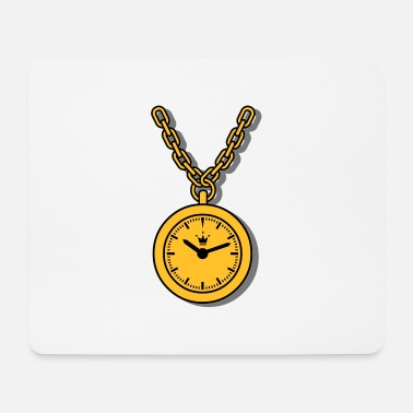 Clock clock chain - Tapis de souris
