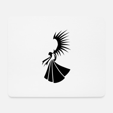 Angel-Tribal - Mouse Pad
