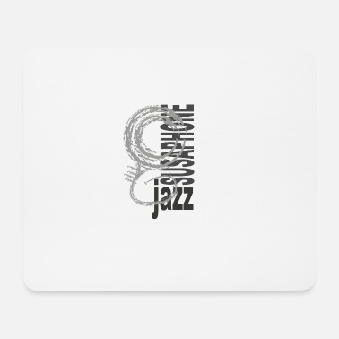 Jazz Susaphone - Mouse Pad