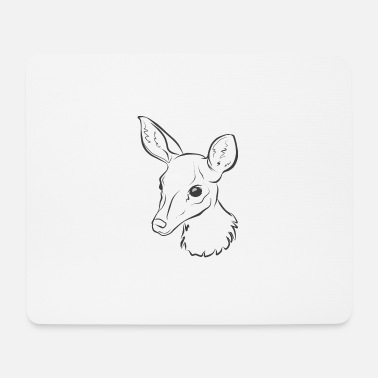 Baby Shower Baby Rehkitz Deer baby shower - Mouse Pad