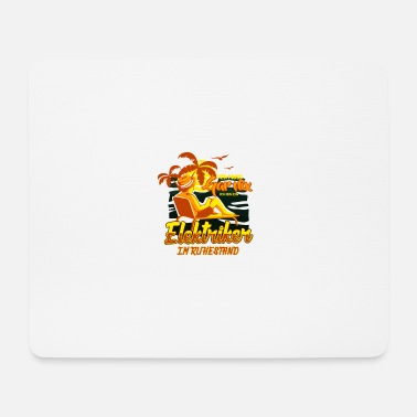 Funny &amp ELECTRICIAN IN RETAIL TRADE - Mouse Pad