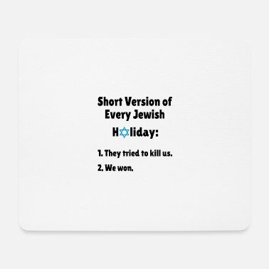Jewess Short Version of Jewish Holidays - Mouse Pad