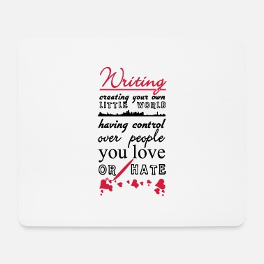 Writing Writing - Mouse Pad
