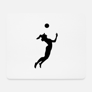 Beach Volleyball Volleyball, Beach Volleyball - Mouse Pad