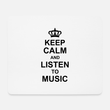 Disco keep calm and listen to music kg10 - Mouse Pad