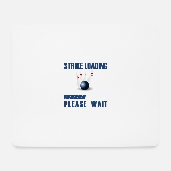 Teamplayer Mousepads  - Strike Loading - Mousepad Weiß