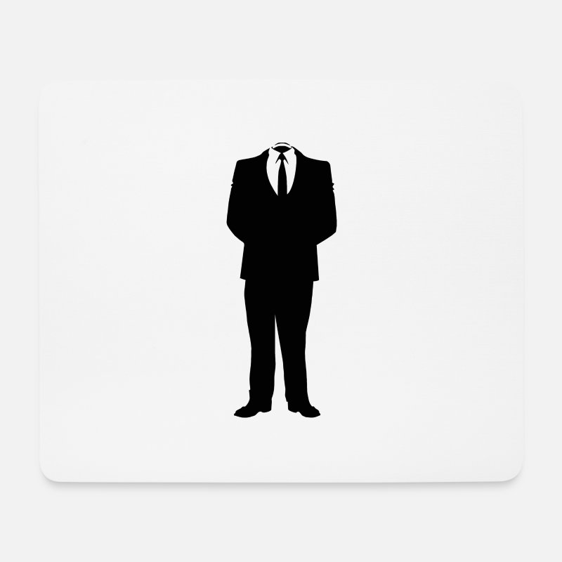 Journalist Mouse Pads - MAN'S BODY - Mouse Pad white