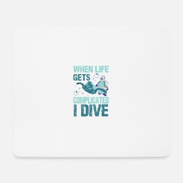 Immersioni Deep Sea Deep Dive Dive Snorkeling - Tappetino mouse