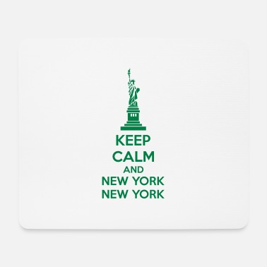 Libertà Keep Calm And New York New York - Tappetino mouse
