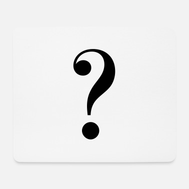 Mark Something question mark - Mouse Pad