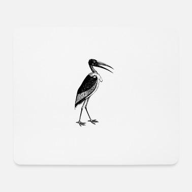 Mummy stork2 - Mousepad (Querformat)