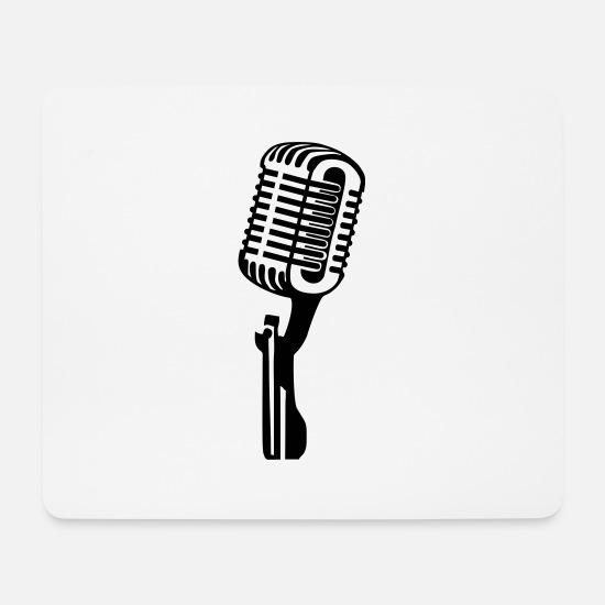 Mikrofon, musikk, sanger Musematte   Spreadshirt
