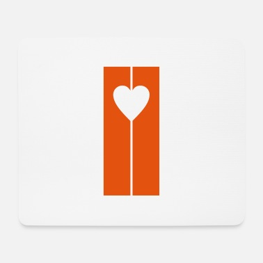 Strip Strip heart - Mouse Pad