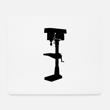 Vertical vertical drill_t1 - Mouse Pad