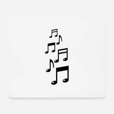 Piano music_notes_f1 - Tapis de souris