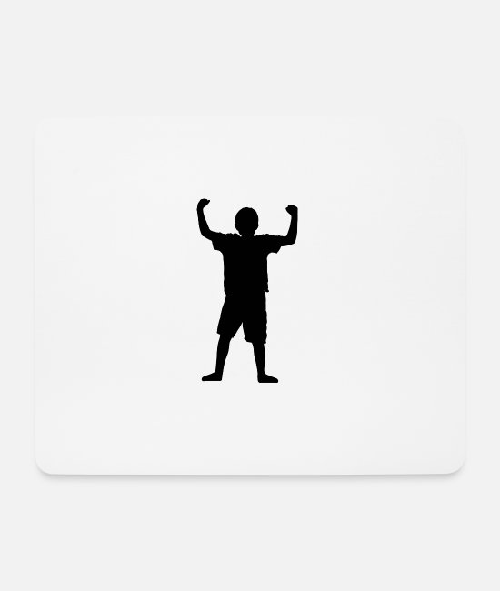 Geek Mouse Pads - Boy - Mouse Pad white