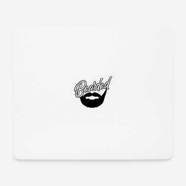 Masculinity Bearded Bearded Masculine Male Hairy - Mouse Pad