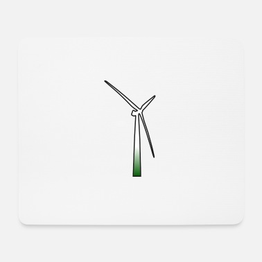 Wind windmill windmill wind turbine windrad11 - Mouse Pad