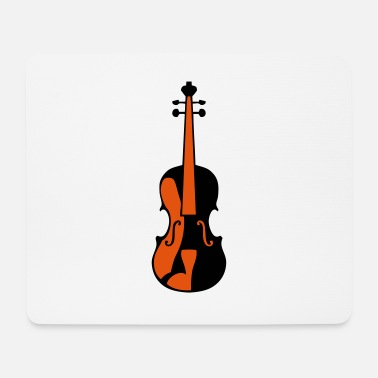Music violin music instrument 506 - Mouse Pad