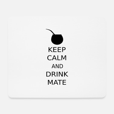 Keep Calm KEEP CALM AND DRINK MATE - Mousepad (Querformat)
