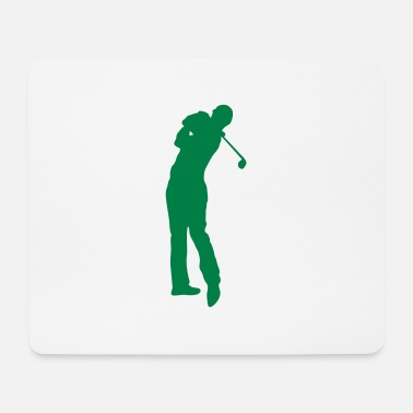 Golf Swing Golf swing player 1502 - Mouse Pad