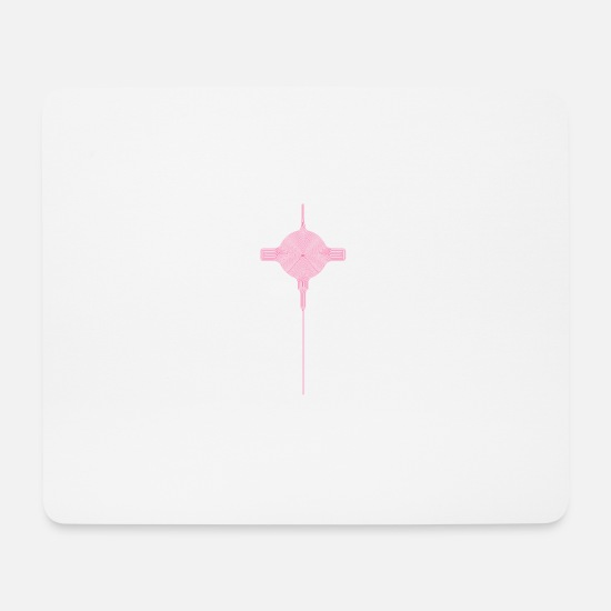 Symbol  Mouse Pads - insect - Mouse Pad white