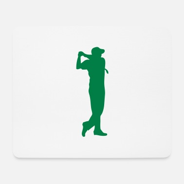 Golf Swing golf swing player player 210 - Mouse Pad