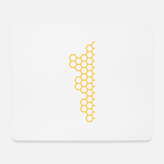 Honeycomb Mouse Pads - Honeycombs - Mouse Pad white
