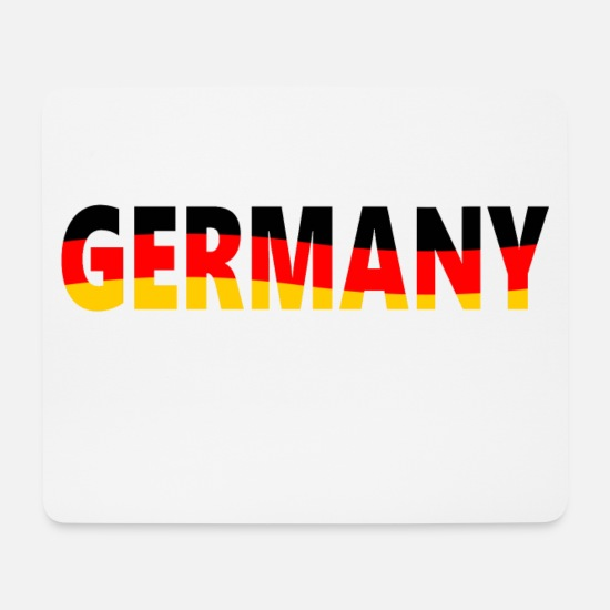 Gift Idea Mouse Pads - Germany, Germany - Mouse Pad white