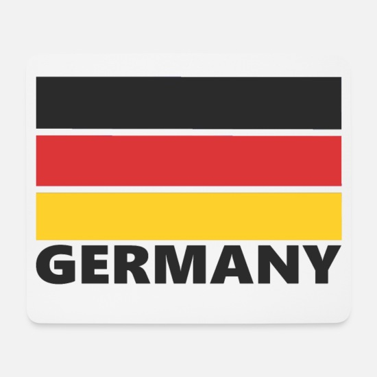 Red Mouse Pads - Germany, Germany - Mouse Pad white