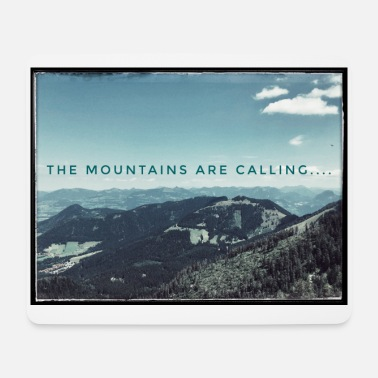 The mountains are calling - Mouse Pad (horizontal)