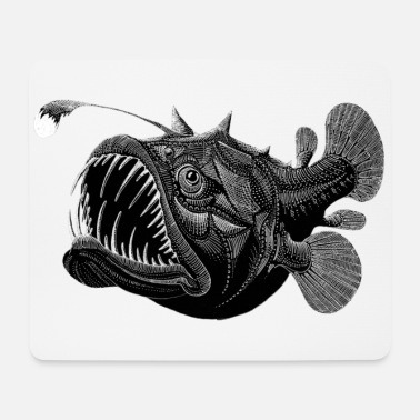 Deep Sea Deep sea fish - Mouse Pad