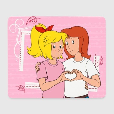 Bibi and Tina friends forever - Mouse Pad (horizontal)