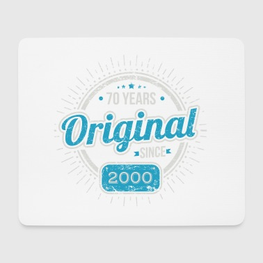 70th Birthday / Years: Original since 1948 Gift - Mouse Pad (horizontal)