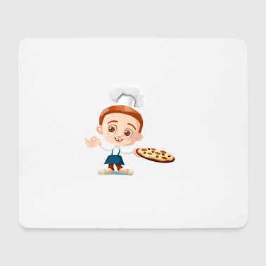 Pizzabäcker - Mousepad (Querformat)