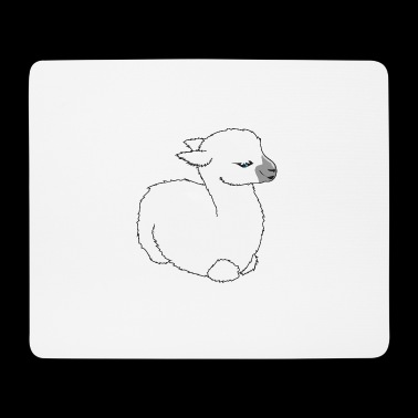 Baby Lama - Mousepad (Querformat)