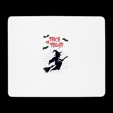 Trick or treat halloween witch - horror - Mousepad (Querformat)
