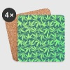 Cannabis / Weed / Marijuana - Pattern (Phone Case) - Untersetzer (4er-Set)