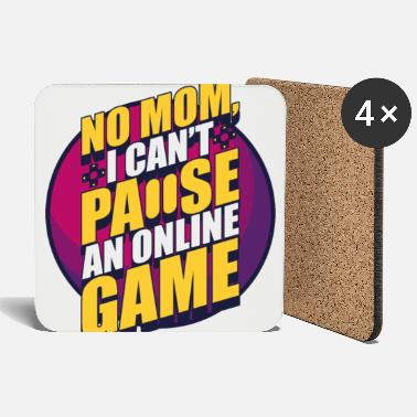 Gambling Game Game Console Nerd Funny Mother - Coasters