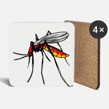 Pest Insect bloodsucker insect mosquito mosquito pest - Coasters