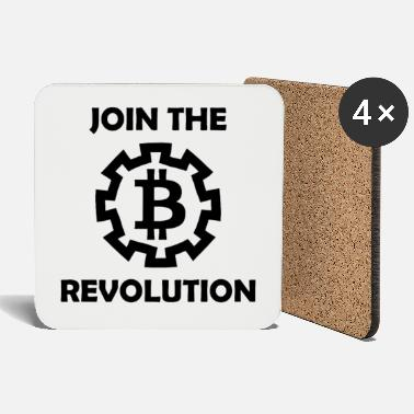 Coin Bitcoin revolution - Coasters