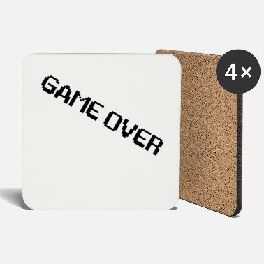 I Am Gaming I am game over - Coasters
