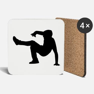 Dance Floor A dancer on the dance floor - Coasters