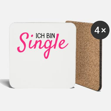 Single Ich bin Single - Untersetzer