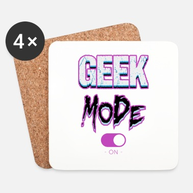 Pc Geek mode - Underlägg (4-pack)