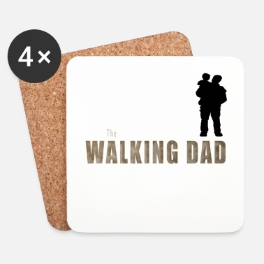 Bestseller THE WALKING DAD - Dessous de verre (lot de 4)