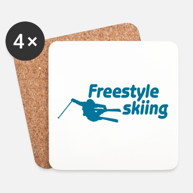 Freestyle freestyle skiing ii - Dessous de verre (lot de 4)