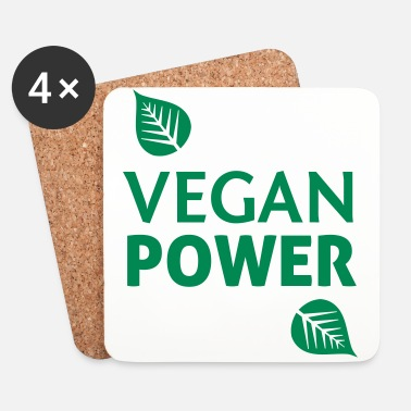 Virta Vegan Power - Lasinalustat (4 kpl:n setti)