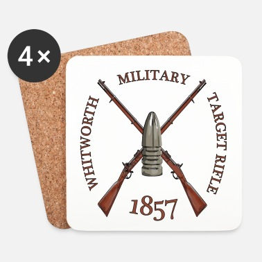 Meeting MILITARY TARGET RIFLE - Underlägg (4-pack)