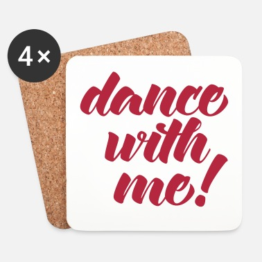 Dubstep Dance With Me - Dessous de verre (lot de 4)